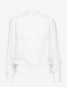 Haylie blouse - CHALK