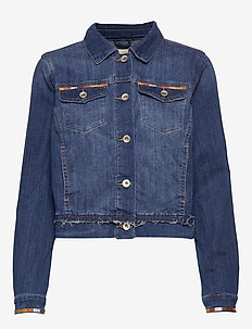 Diwa denim jacket - BLUE DENIM