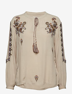 Fenja blouse - LIGHT BEIGE