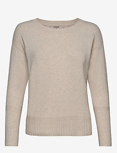 Amelia Knit - broken white melange