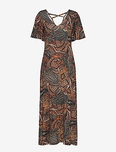LivCR Long Dress - CHICORY COFFEE