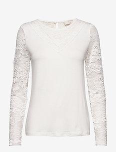 KaneCR Long Sleeve T-shirt - CHALK