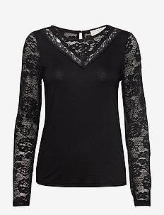 KaneCR Long Sleeve T-shirt - PITCH BLACK
