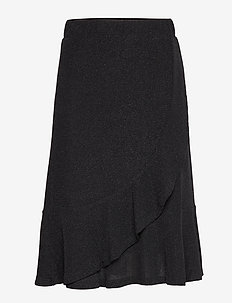 MinuCR Skirt - PITCH BLACK