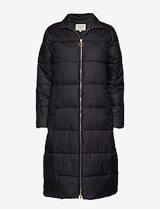 Gaiagro Long Jacket - PITCH BLACK