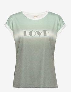 NatianCR T-shirt - SOFT GREEN