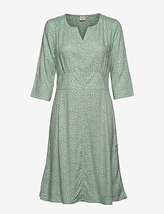 KarinaCR Dress - SOFT GREEN