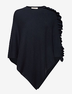 OdetteCR Poncho - ponchos en capes - royal navy blue