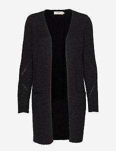 KaitlynCR New Cardigan - swetry rozpinane - pitch black