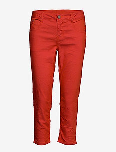 VavaCR 3/4 Pant coco fit - straight jeans - aurora red
