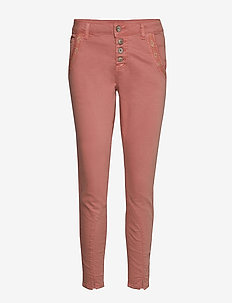 CalinaCR Pants - Baiily Fit - bukser med smalle ben - old rose