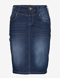 KammaCR Denim Skirt - denim blue