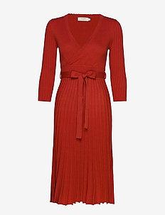 LucilleCR Knit dress - AURORA RED