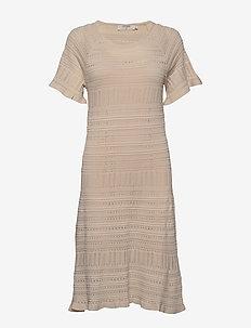 AllegraCR Knit Dress - CHAI BEIGE