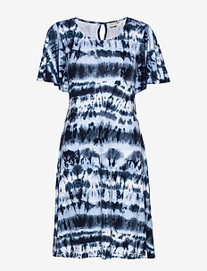 LonnieCR Dress - ROYAL NAVY BLUE