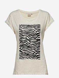 PiaCR T-shirt - PITCH BLACK