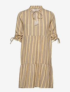 OdetteCR Dress - everyday dresses - cream white