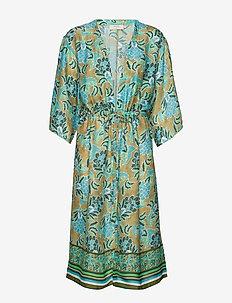BahiaCR Kimono - GREEN MOSS