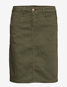 AmalieCR Skirt - BURNT OLIVE