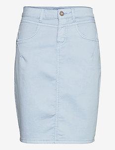 AmalieCR Skirt - jeansowe spódnice - cashmere blue