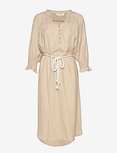 FilucaCR Dress - do kolan & midi sukienki - chai beige