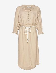 FilucaCR Dress - midi kjoler - chai beige