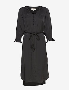 FilucaCR Dress - do kolan & midi sukienki - pitch black