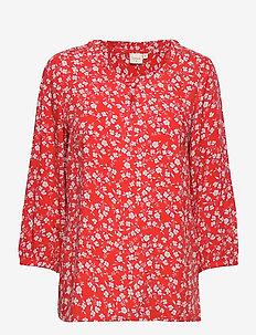DaisyCR Blouse - AURORA RED