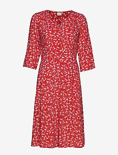 DaisyCR Dress - AURORA RED