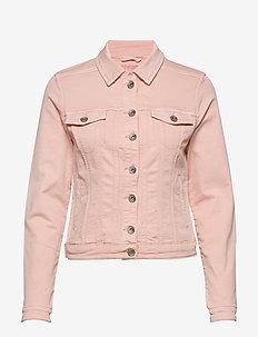 RikkaCR Jogg Denim Jacket - spring pink