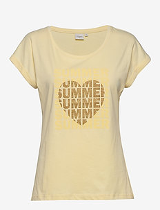 UllaCR T-shirt - dusty sun