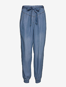 VincaCr cargopants - casual broeken - blue denim