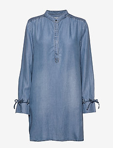 VincaCR long shirt - BLUE DENIM