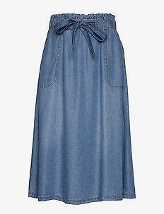 VincaCr skirt - BLUE DENIM