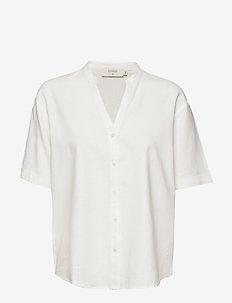 EstaCR Shirt - shirts met korte mouwen - snow white