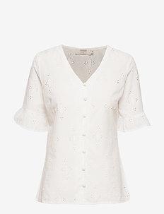 AlbaniCR Shirt - CHALK