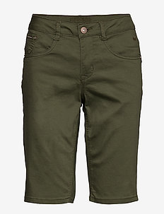 VavaCR Shorts - Coco Fit - BURNT OLIVE