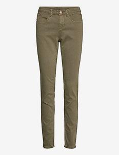 LotteCR Plain Twill - Coco Fit - skinny jeans - burnt olive