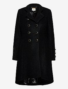 AnnabellCR Coat - wełniane płaszcze - pitch black