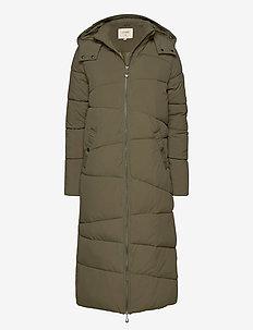 GaiagroCR Long Jacket - dynefrakke - kalamata