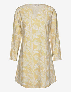 EstaCR Tunic - tuniki - yellow leaf print