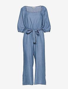 VincaCR Jumpsuit - kombinezony - blue denim