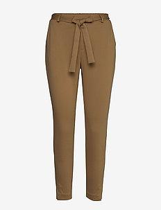 AnettCR Pants - spodnie proste - tiger's eye