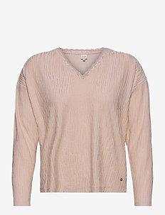 NadjaCR Long Sleeve - sweatshirts - sand melange