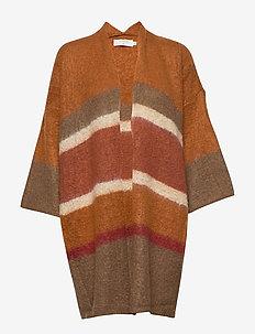 SinaCR Cardigan - swetry rozpinane - burned stripes