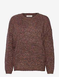 KiaraCR OZ Jumper - swetry - burlwood melange