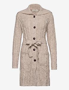 EllieCR Knit Cardigan - swetry rozpinane - chateau gray melange
