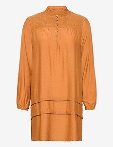 SigneCR Mini Dress - blousejurken - meerkat
