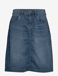 SammyCR Denim Skirt - RICH BLUE DENIM