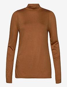 ViolaCR Turtleneck T-shirt - langærmede toppe - meerkat